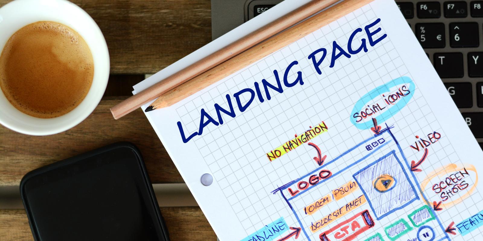 Capta clientes potenciales utilizando landing pages o páginas de aterrizaje